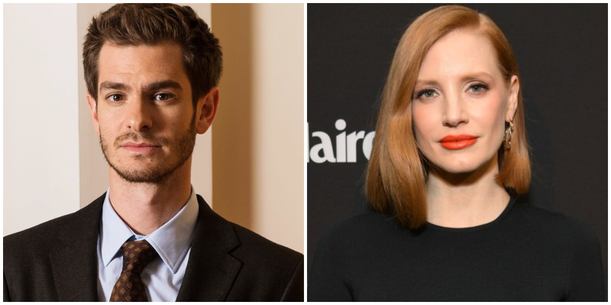 Andrew Garfield Rejoint Jessica Chastain Dans The Eyes Of Tammy Faye Cineseries