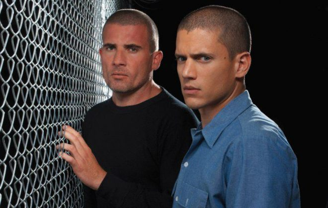 Wentworth Miller & Dominic Purcell