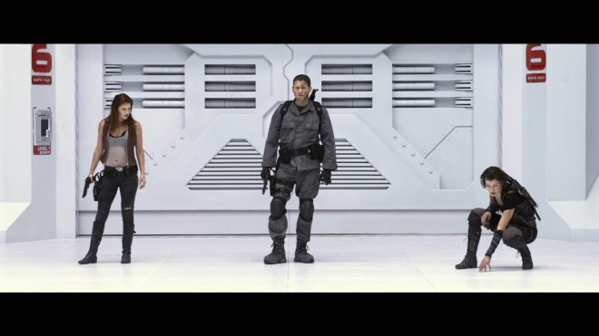 Wentworth Miller & Sienna Guillory Resident Evil Afterlife