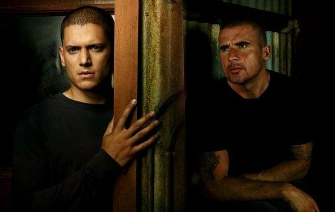 Wentworth Miller & Dominic Purcell dans Prison Break
