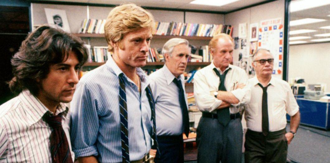 Les Hommes du président dans notre Top 5 des films politiques
