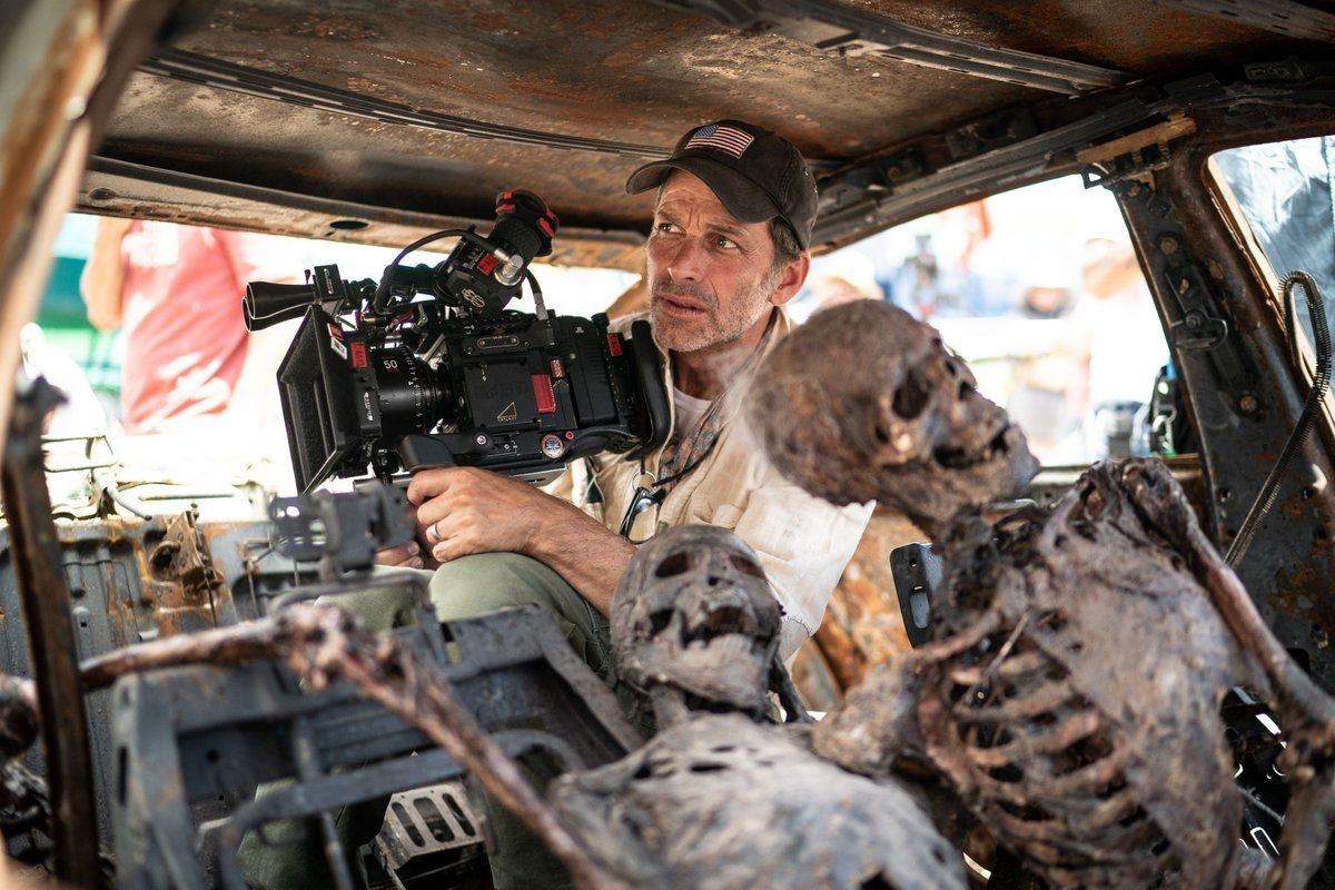 Zack Snyder sur le tournage d'Army of the Dead