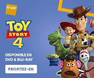 Toy Story 4 disponible à la Fnac