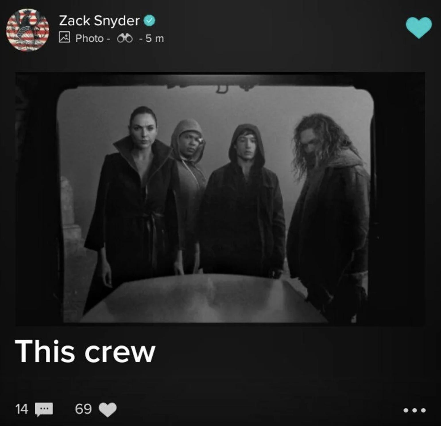Justice League : nouvelles images du Snyder Cut