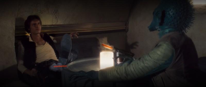 Star Wars IV : la scène de Han Solo face à Greedo a encore été modifiée