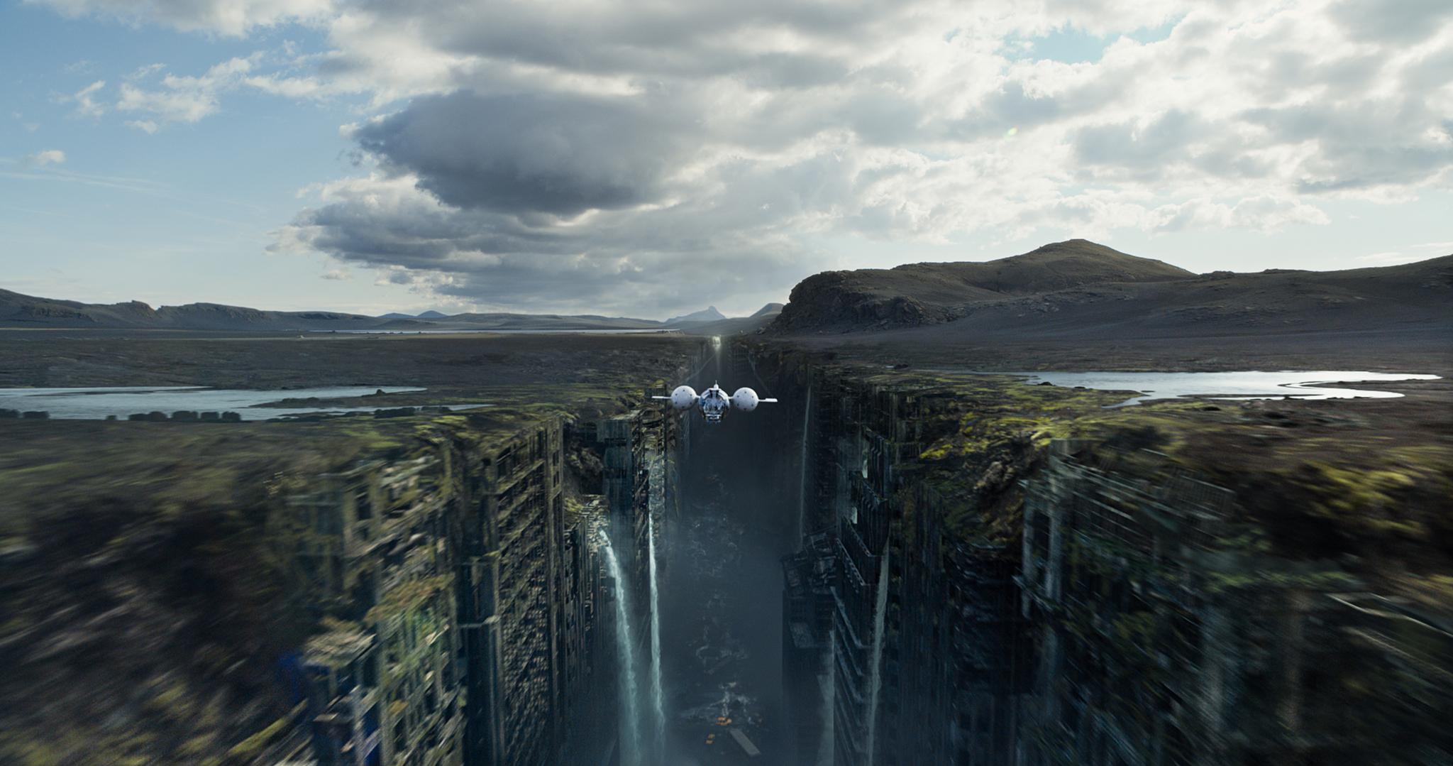Oblivion : retour sur quelques secrets de la création des décors et des lieux de tournage.