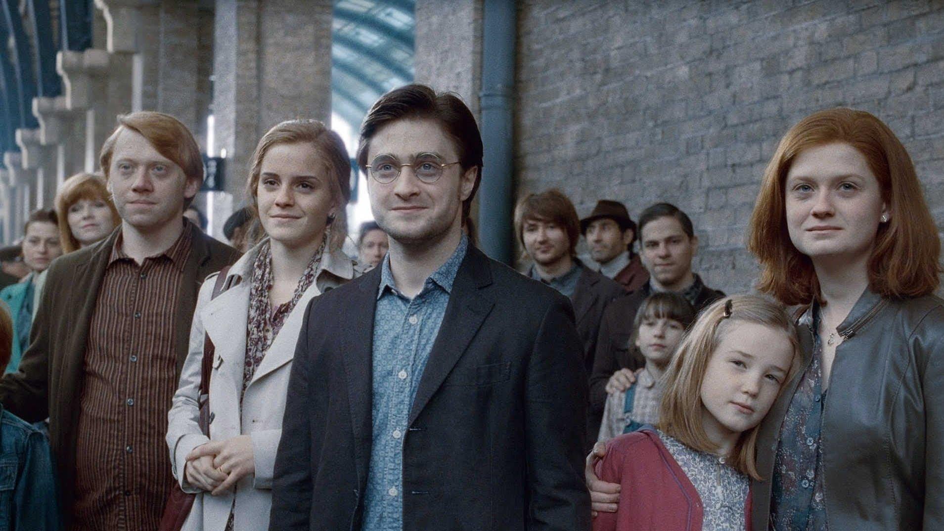 Harry Potter et les reliques de la mort (partie 2) - les coulisses du baiser entre Ron et Hermione