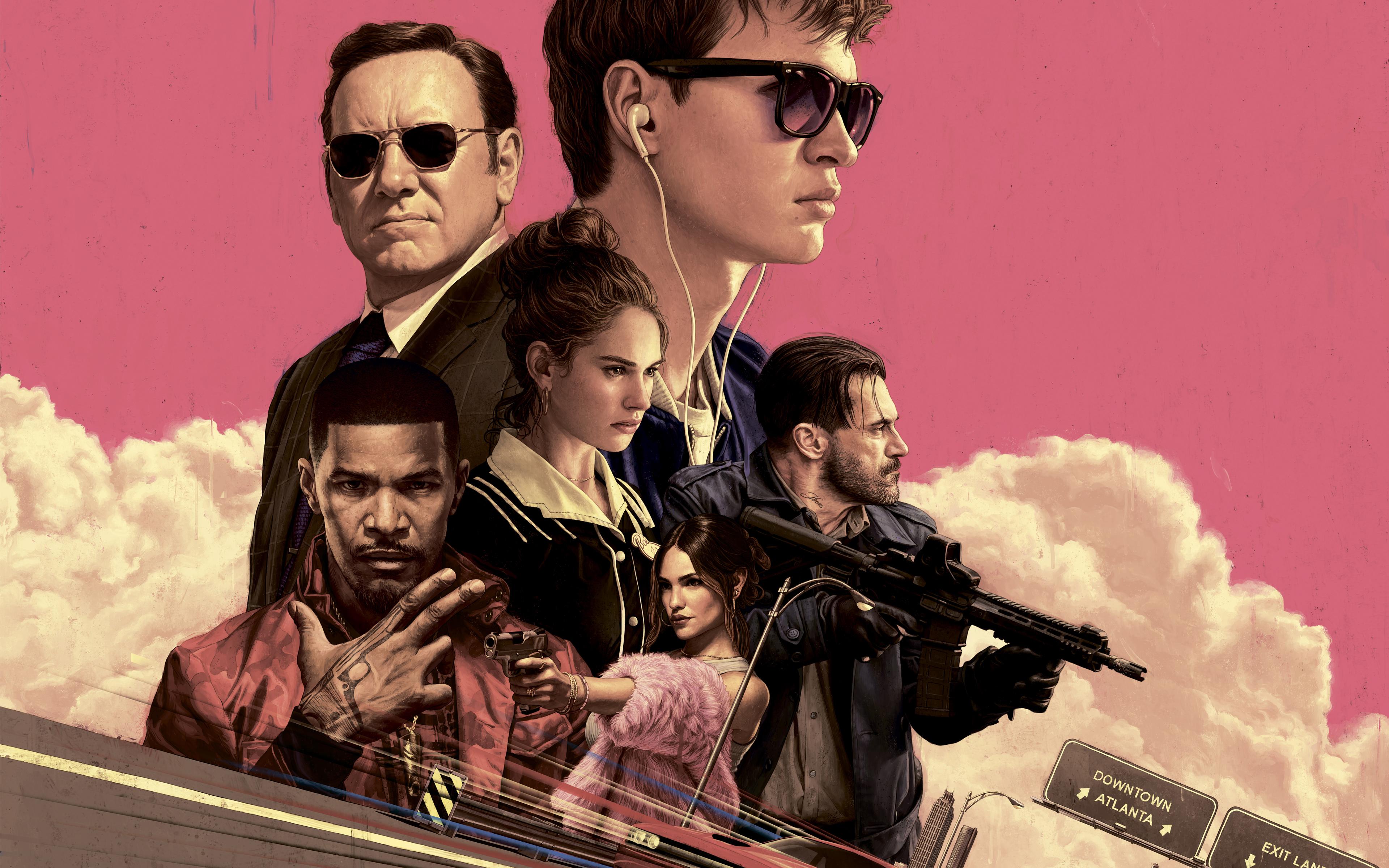 Baby Driver sur Netflix : comment ont été tournées les courses-poursuites ? - CinéSéries