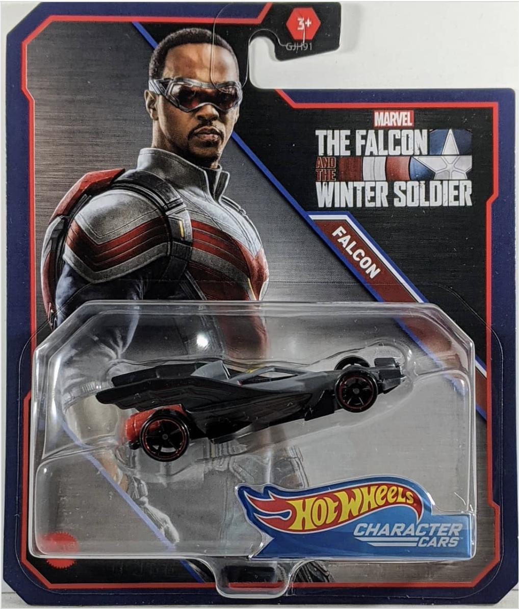 Falcon and The Winter Soldier : le costume de Sam Wilson dévoilé par un jeu Hot Wheels