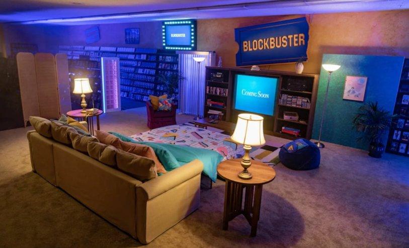 Passer la nuit dans le dernier Blockbuster