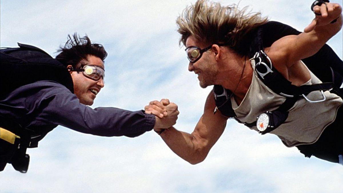 Point Break lundi 31 août sur France 5 : quand Patrick Swayze faisait ses propres cascades