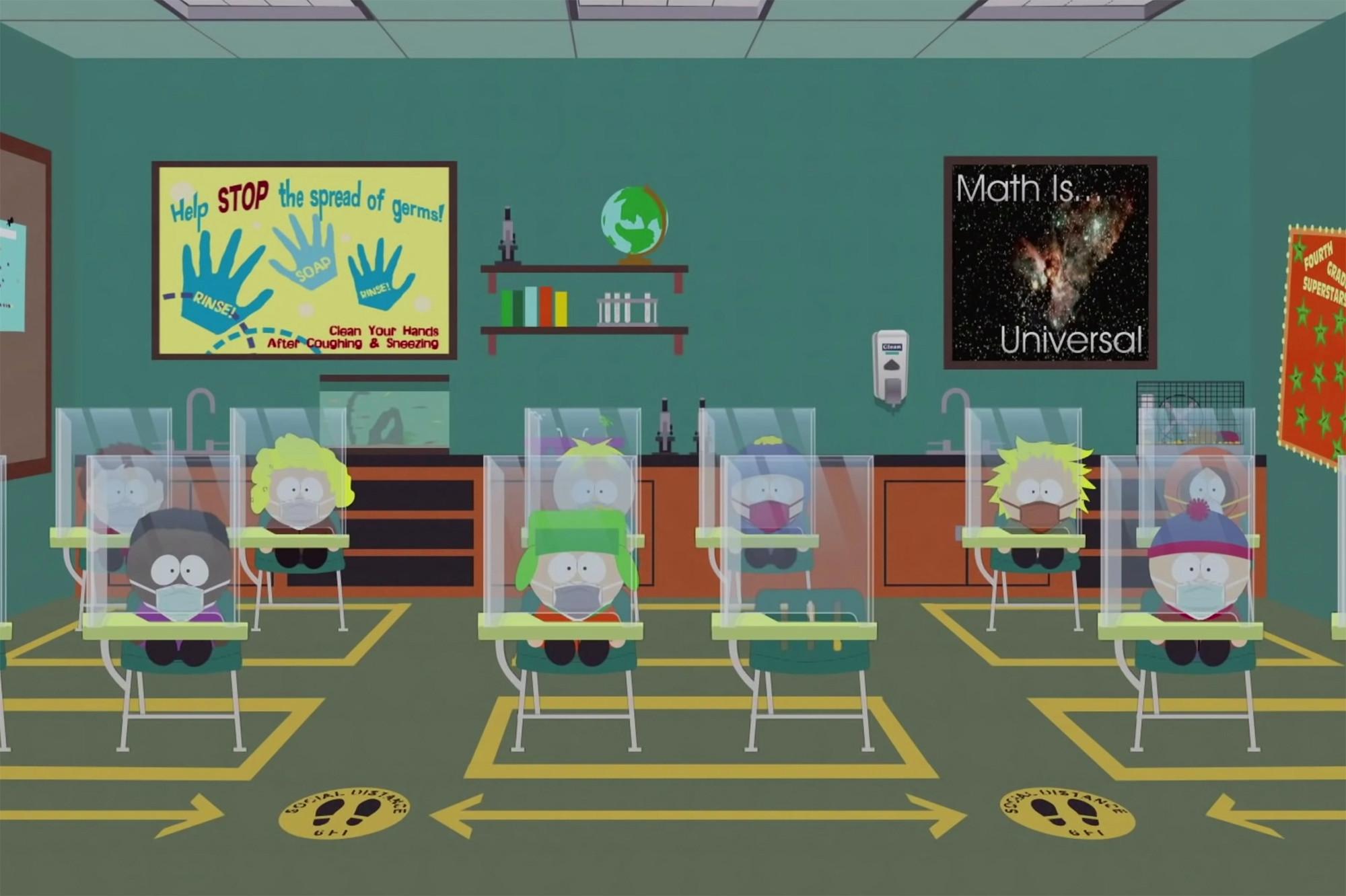 South Park : un trailer pour l'épisode sur le Covid-19