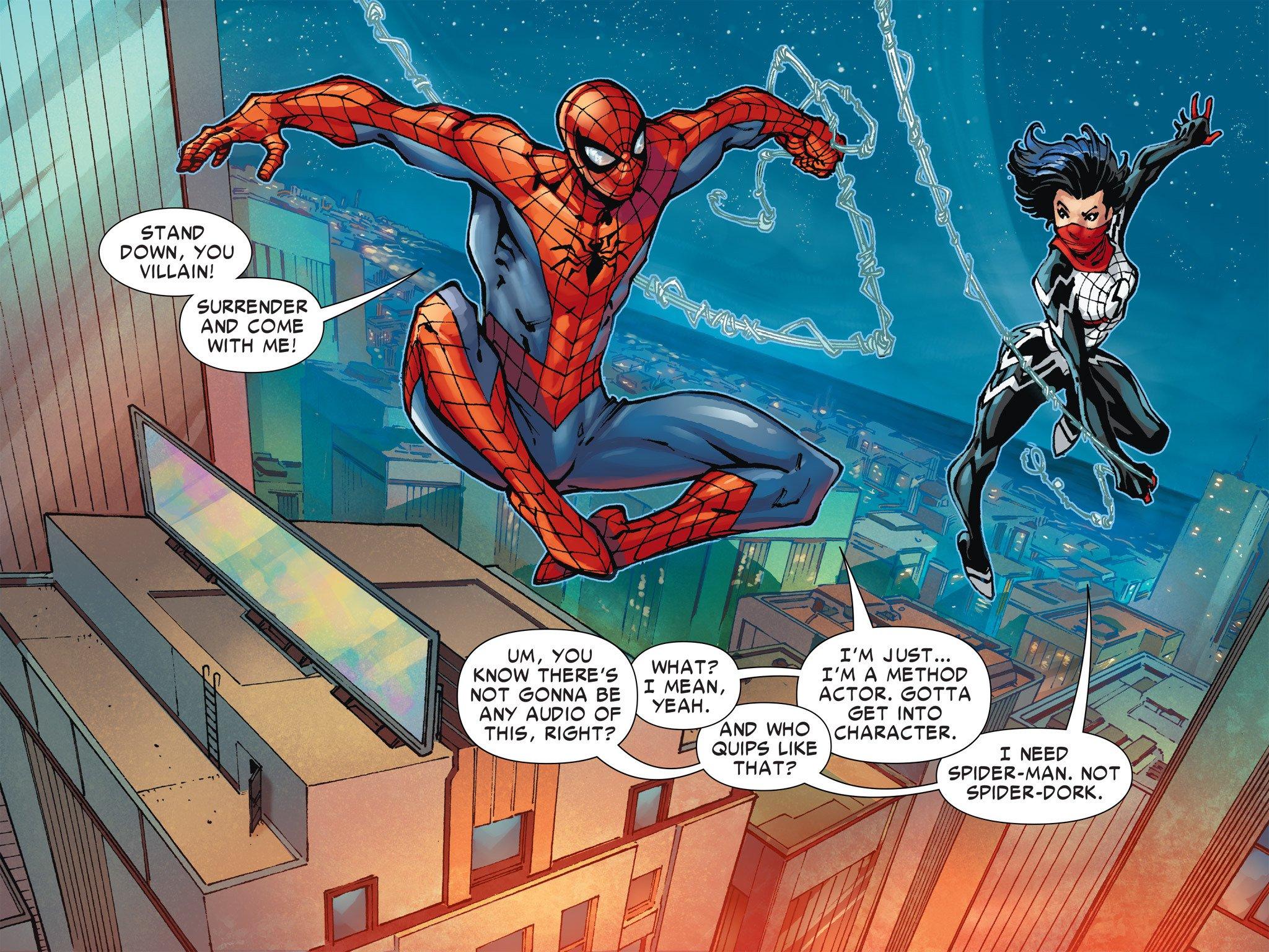 Spider-Man : une série Silk en préparation