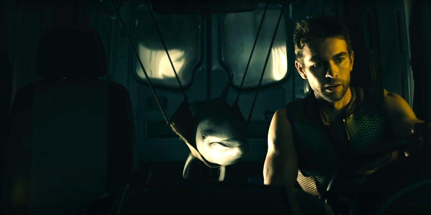 The Boys : Chace Crawford (The Deep) dégoûté par les branchies de son personnage