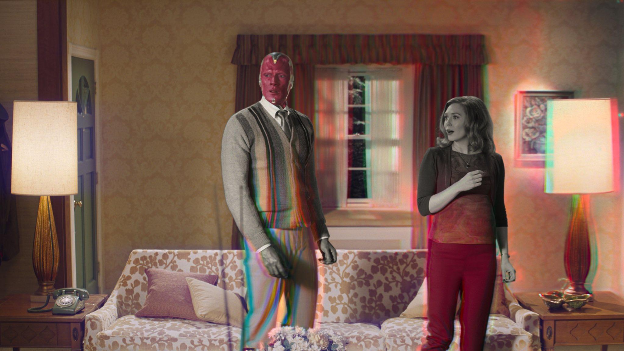 WandaVision : première bande-annonce loufoque pour la série Marvel