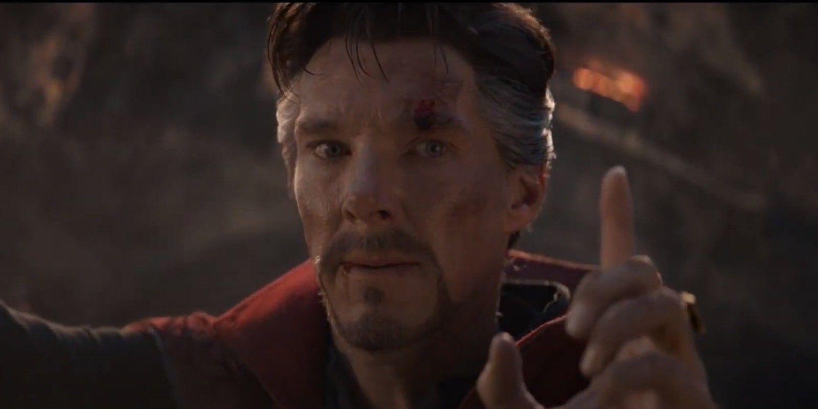 Avengers Endgame : cette scène avec Doctor Strange a été improvisée par Benedict Cumberbatch
