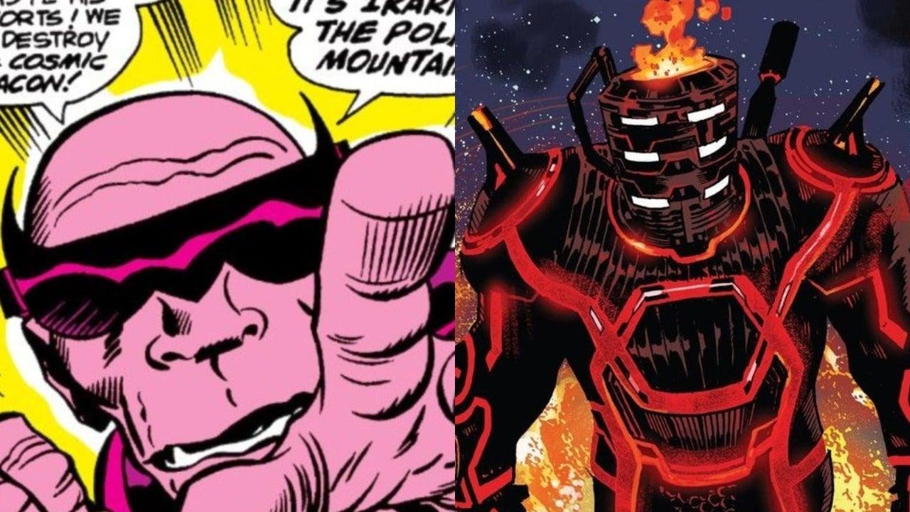Eternals : voici à quoi va ressembler le grand méchant du film