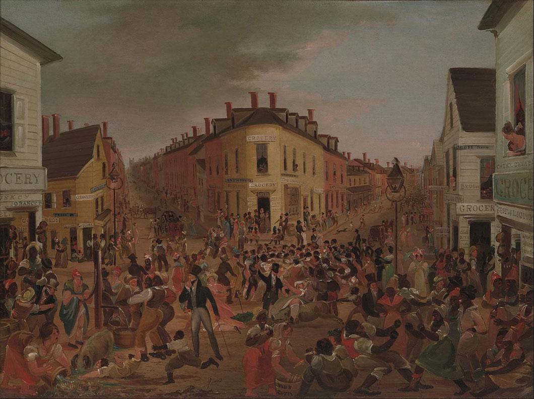 Gangs of New York peinture