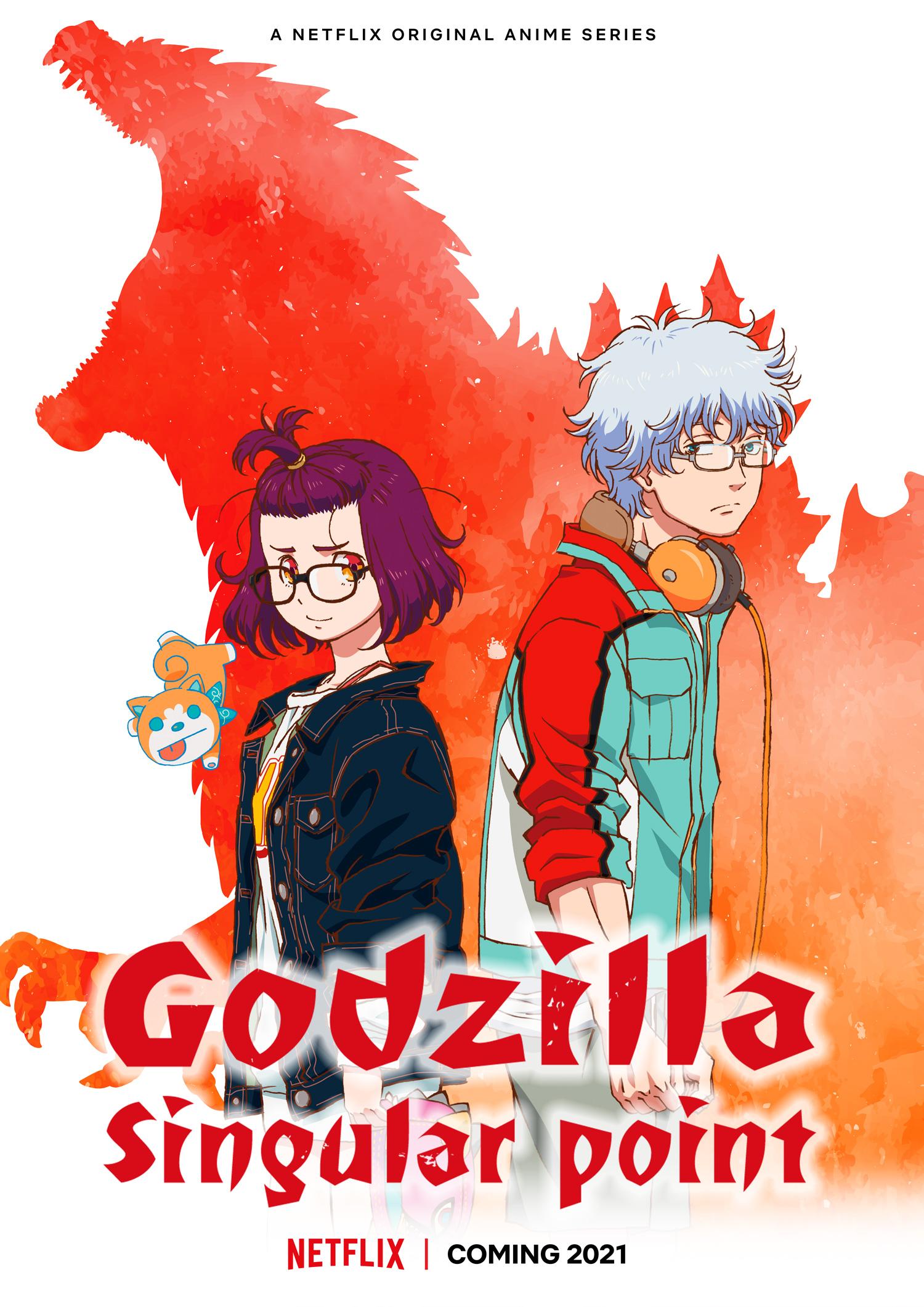 Godzilla Singular Point - poster.