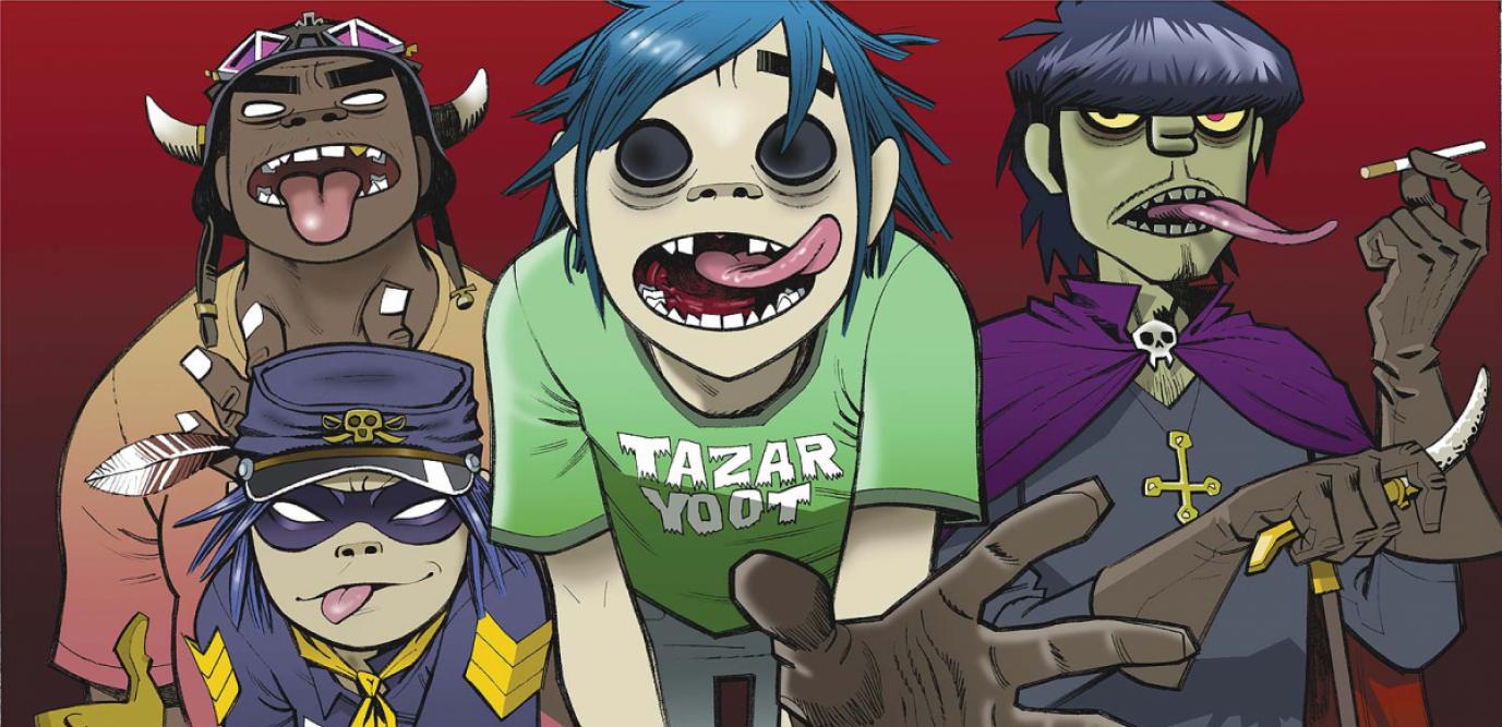 Gorillaz : le groupe mythique aura son propre film d'animation sur Netflix