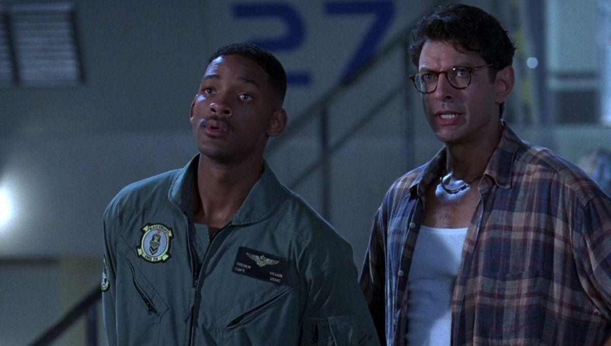 Independence day Will Smith et Jeff Goldblum