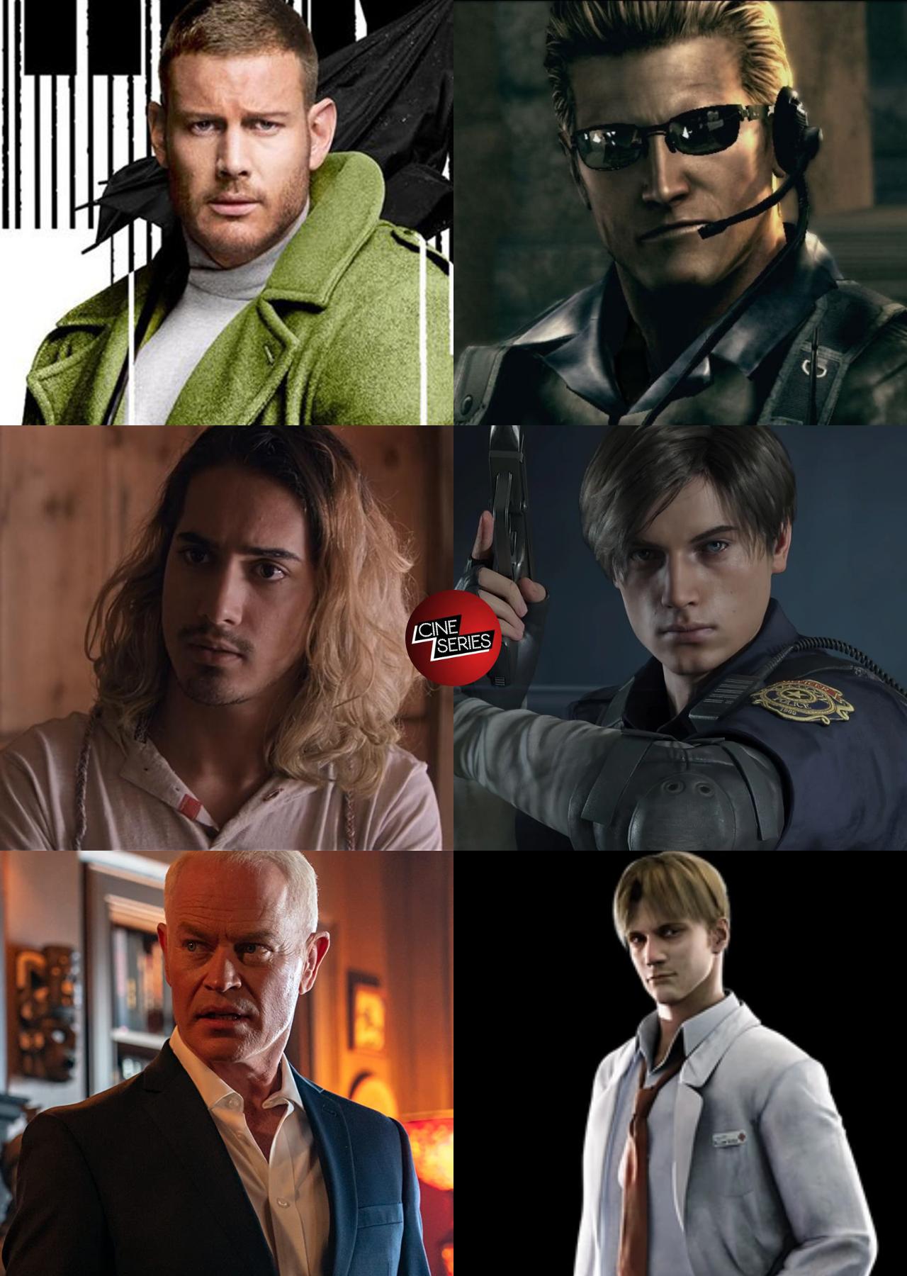 Resident evil casting 2