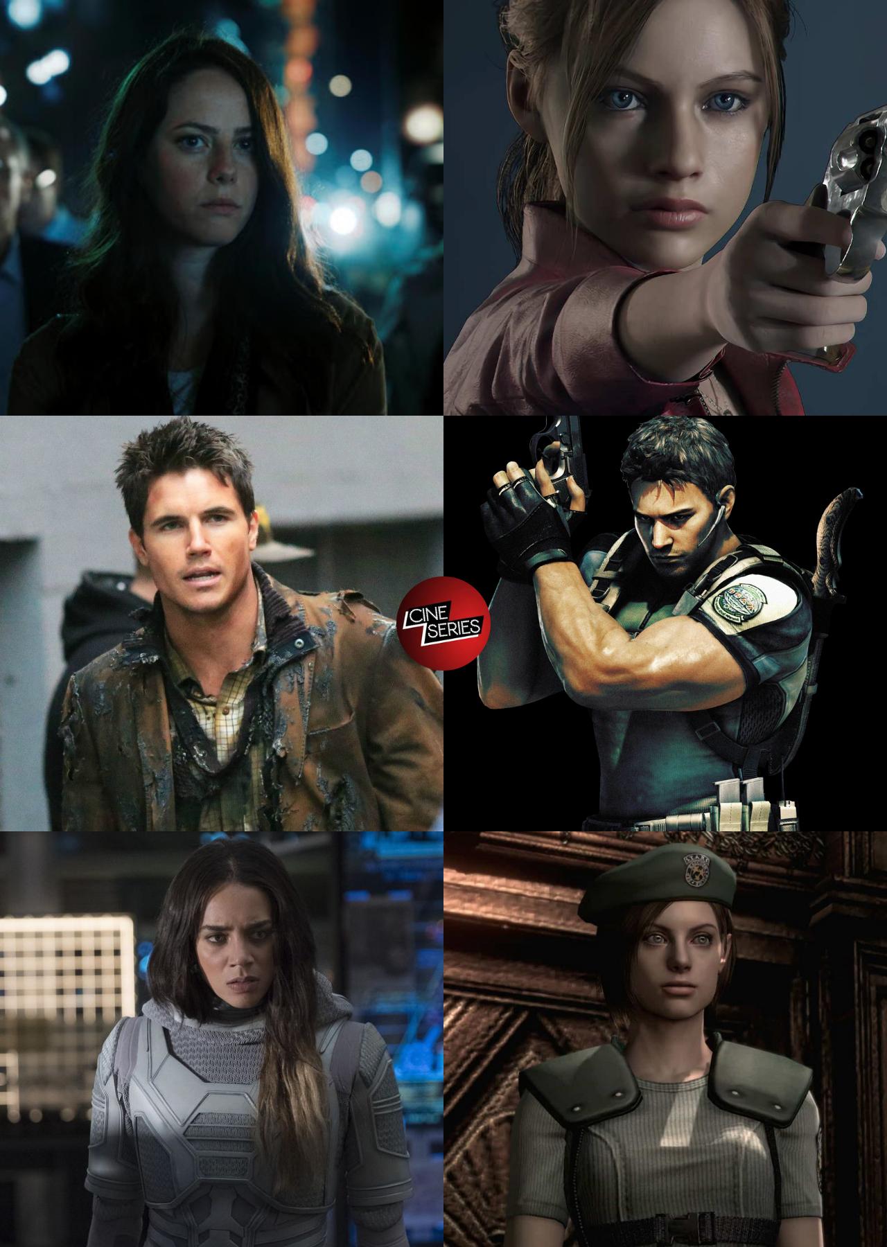 Resident evil casting