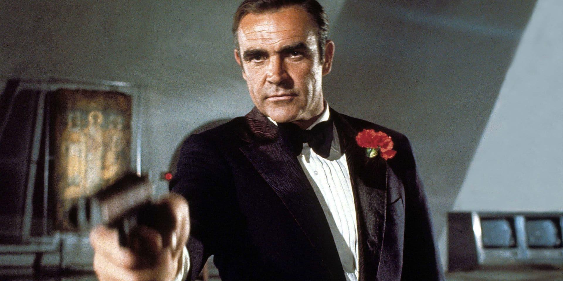 Sean Connery dans James Bond