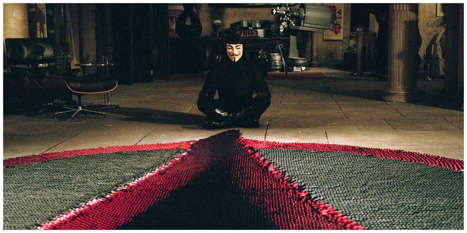 V for Vendetta sur Netflix : les dessous d'un tournage hors du commun