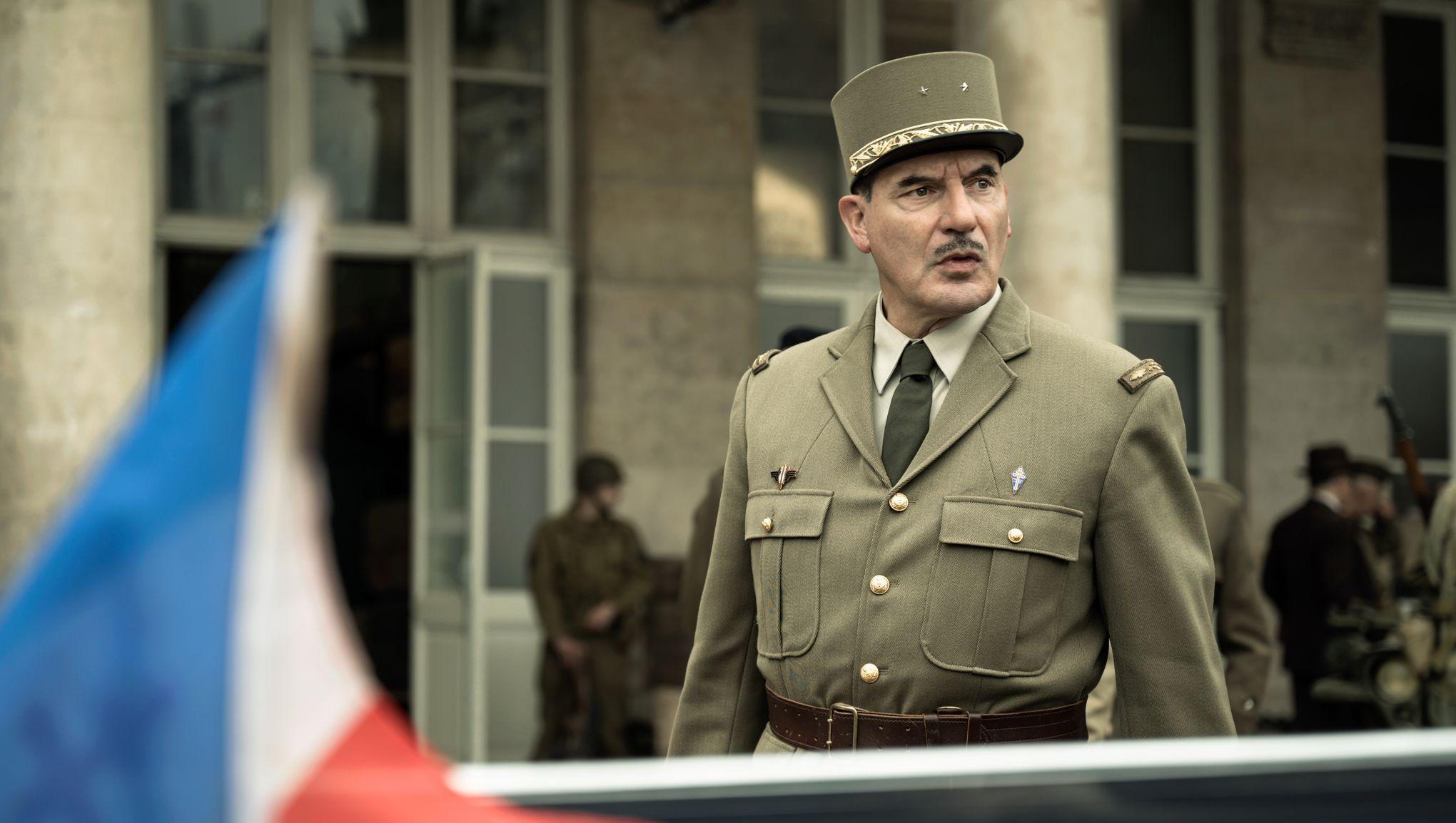 Samuel Labarthe interprète le général De Gaulle © Rémy Grandroques