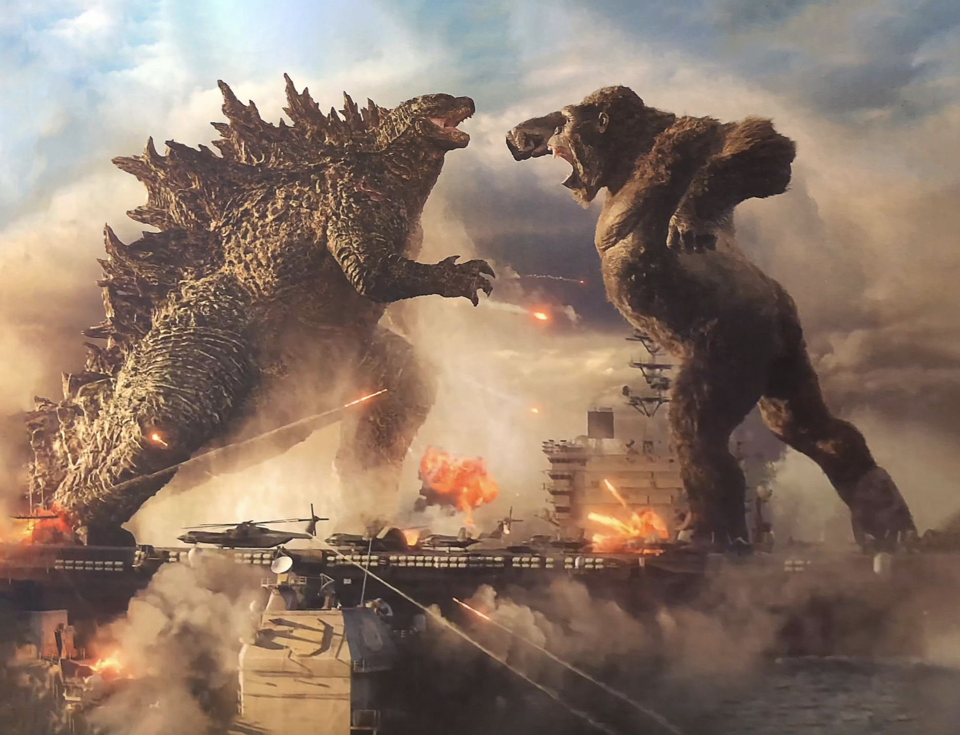 Godzilla vs Kong ©WARNER BROS. ENTERTAINMENT INC. AND LEGENDARY PICTURES PRODUCTIONS, LLC /