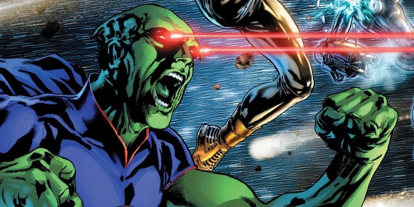 Justice League : premier aperçu de Martian Manhunter dans la Snyder cut