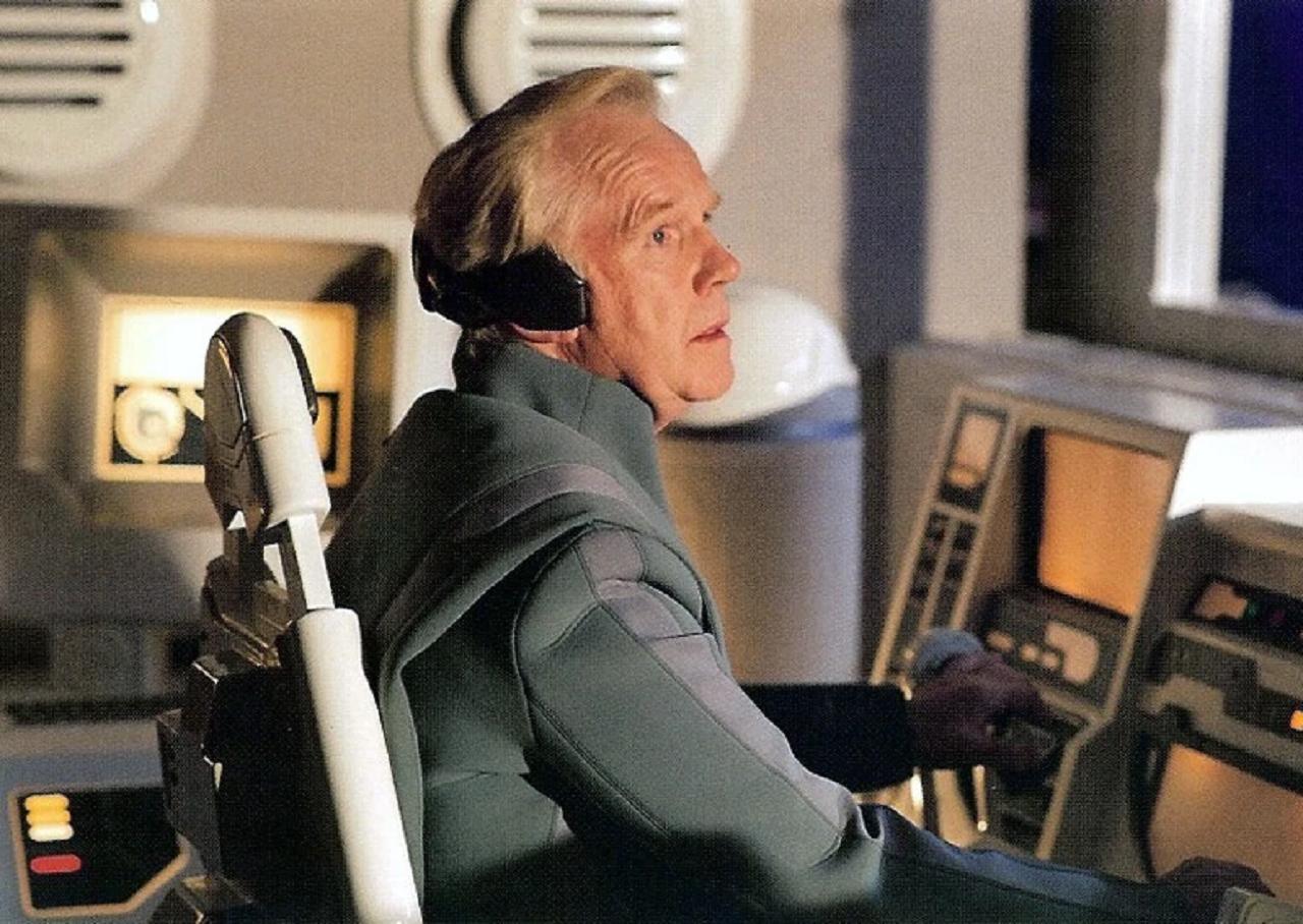 Jeremy Bulloch en capitaine Colton dans Star Wars, épisode 3 : la Revanche des Sith
