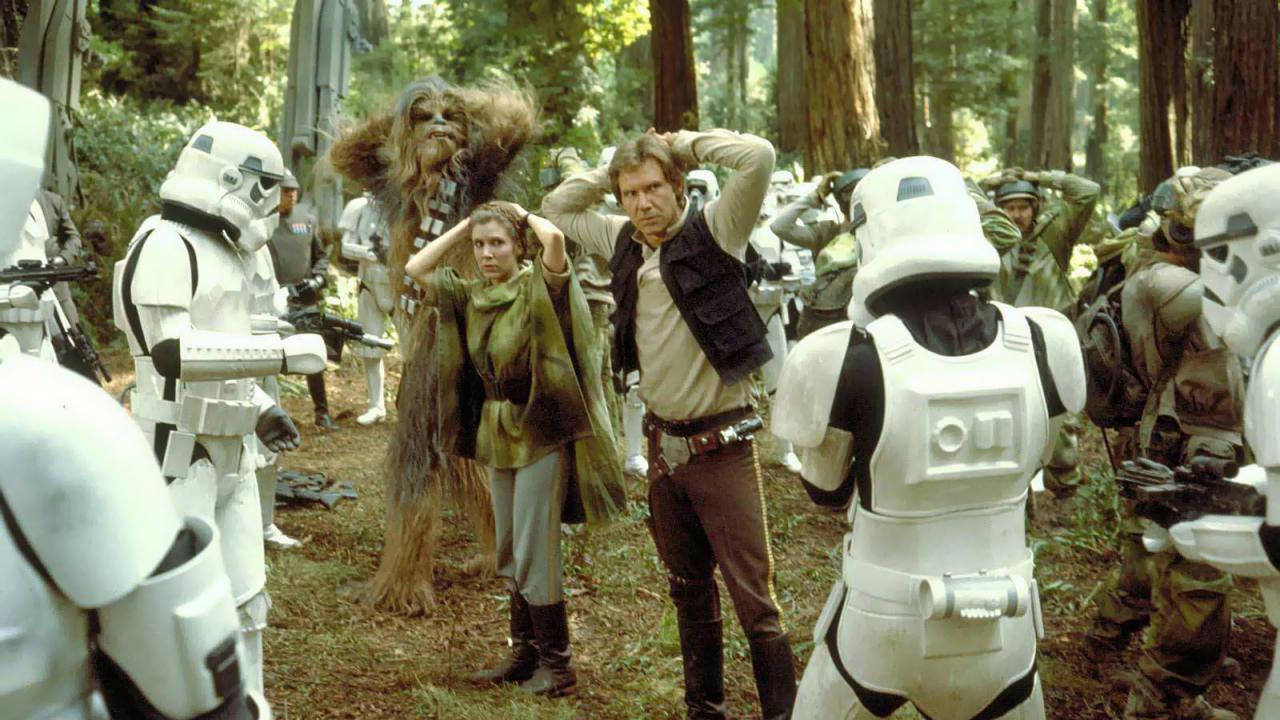 Le Retour du Jedi sur TMC : l'histoire devait être totalement différente