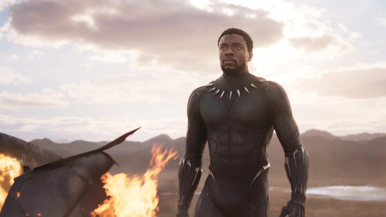 T'Challa (Chadwick Boseman) - Black Panther