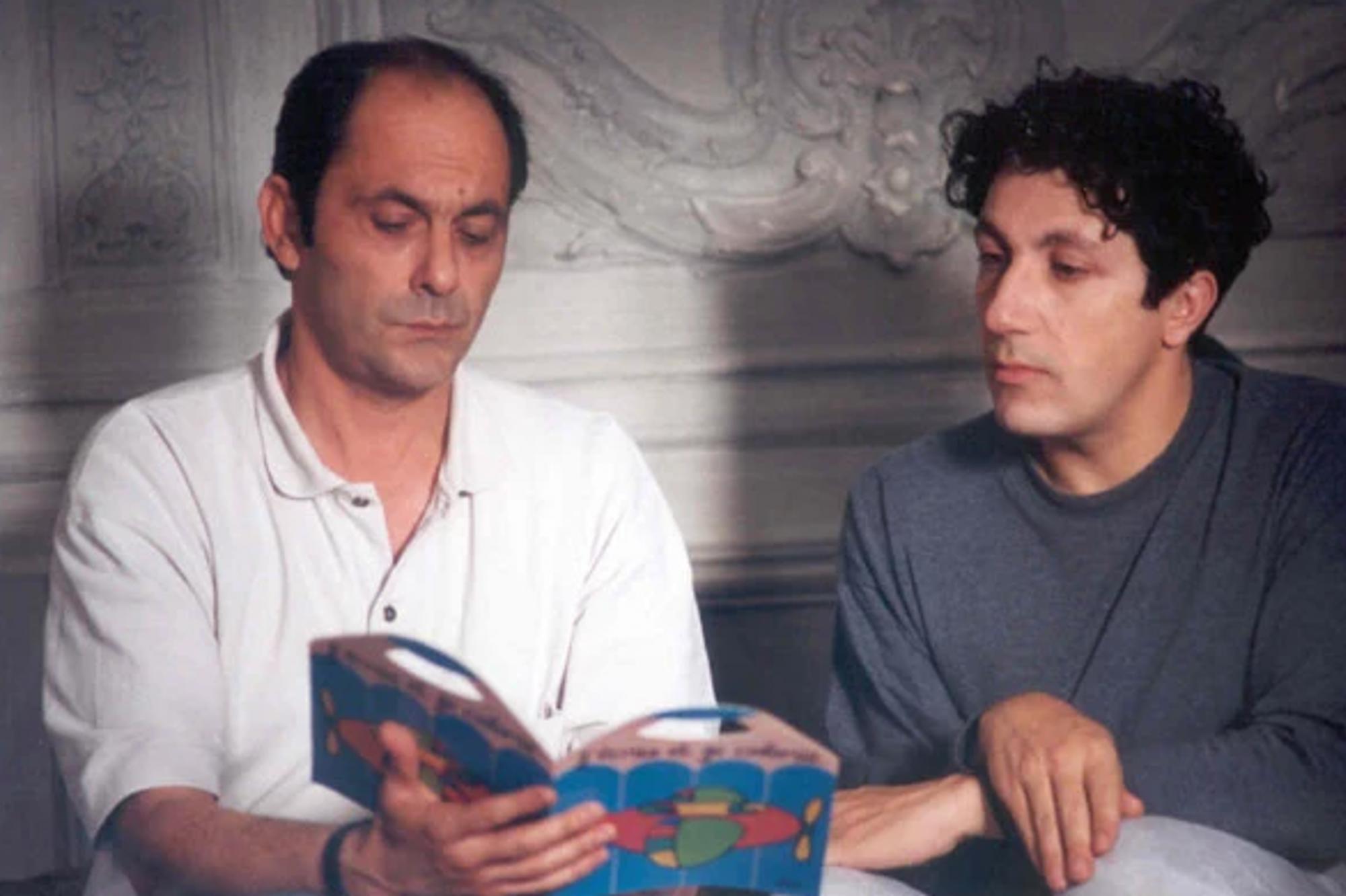 Jean-Pierre Bacri et Alain Chabat dans Didier