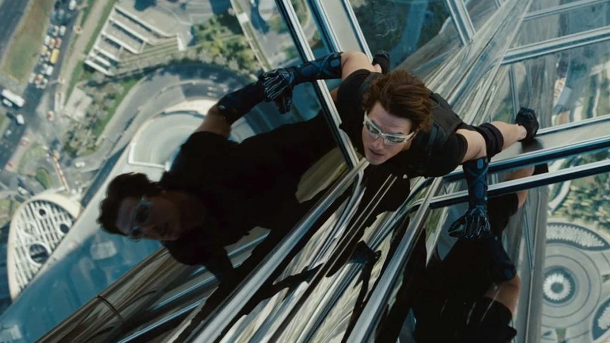 Ethan Hunt (Tom Cruise) - Mission Impossible : Protocole Fantôme
