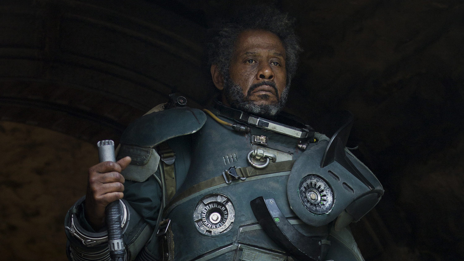 Saw Gerrera (Forest Whitaker) Rogue One : A Star Wars Story
