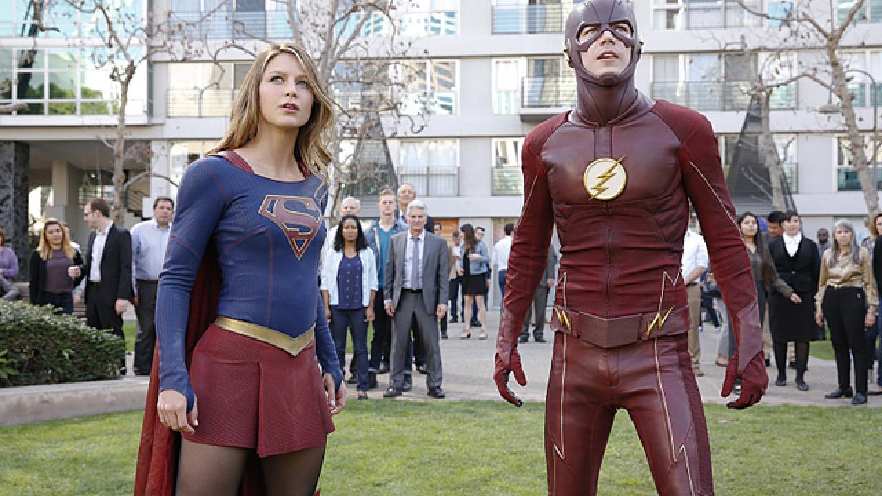 Supergirl et Flash
