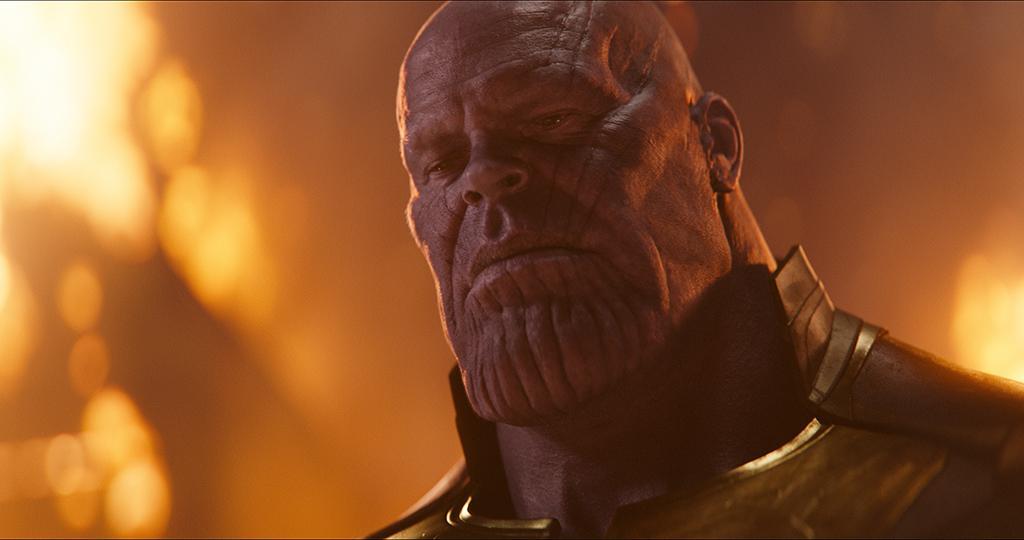 Josh Brolin (Thanos) - Avengers : Infinity War