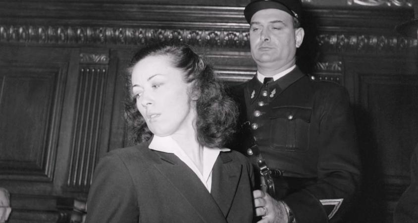 Procès de Pauline Dubuisson en 1953