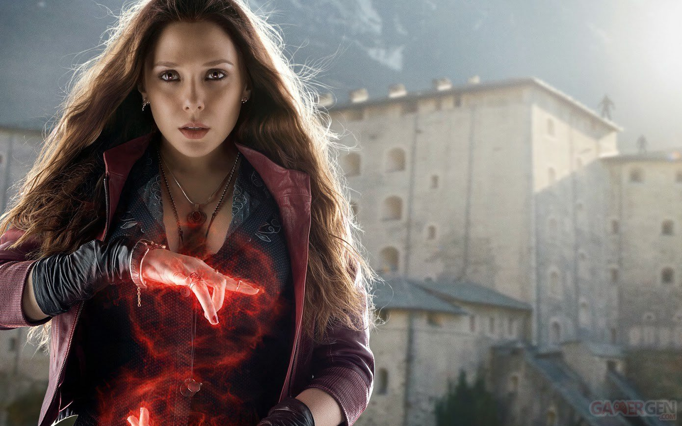 La Sorcière Rouge (Elizabeth Olsen) - Avengers : l'ère d'Ultron