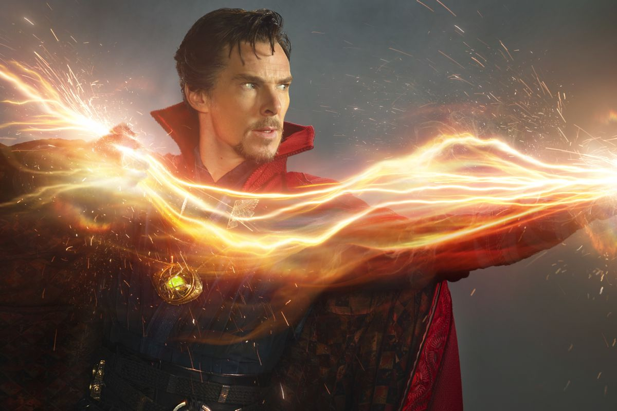 Dr Strange (Benedict Cumberbatch) - Doctor Strange