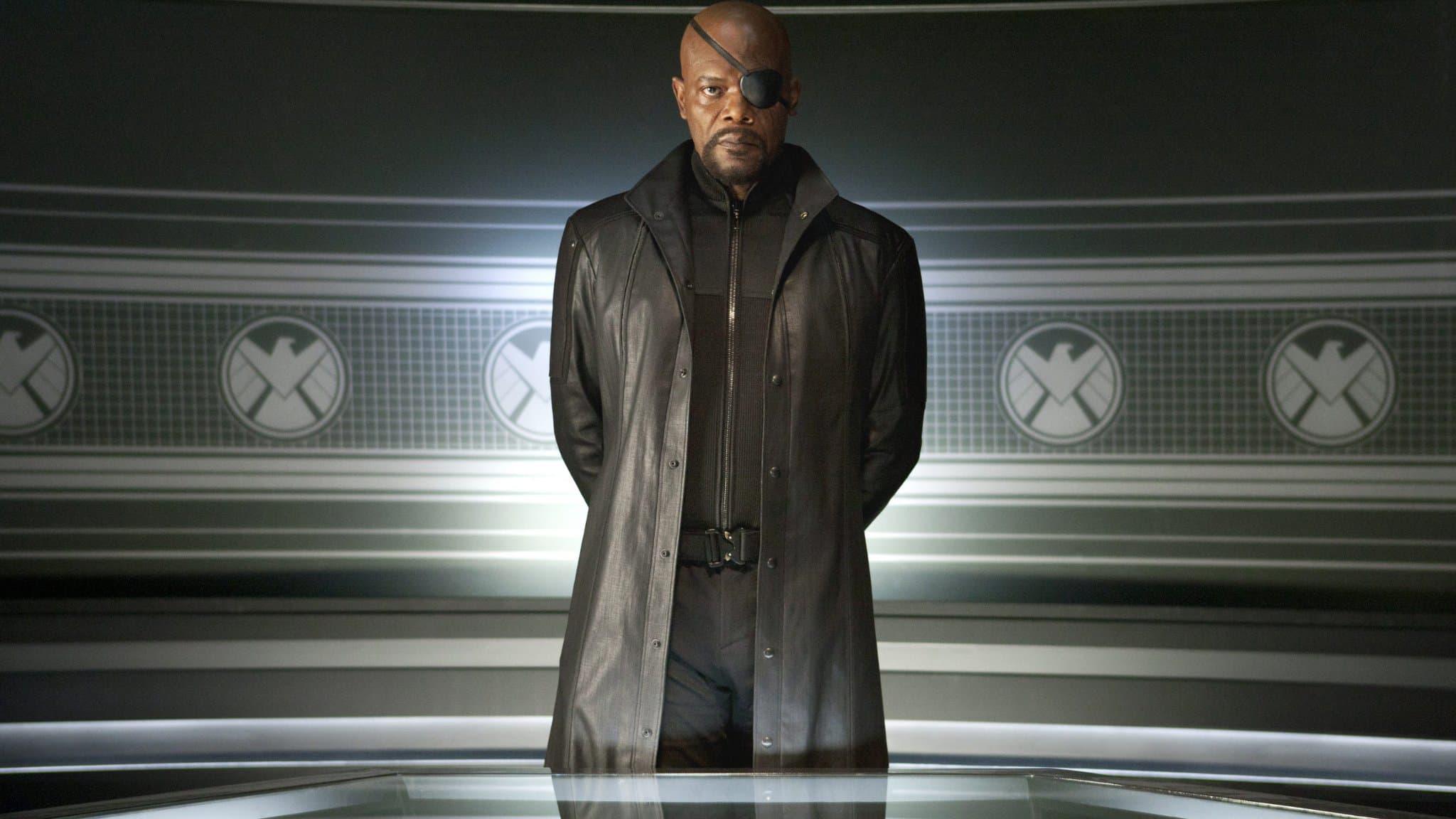 Nick Fury (Samuel L. Jackson) - Avengers