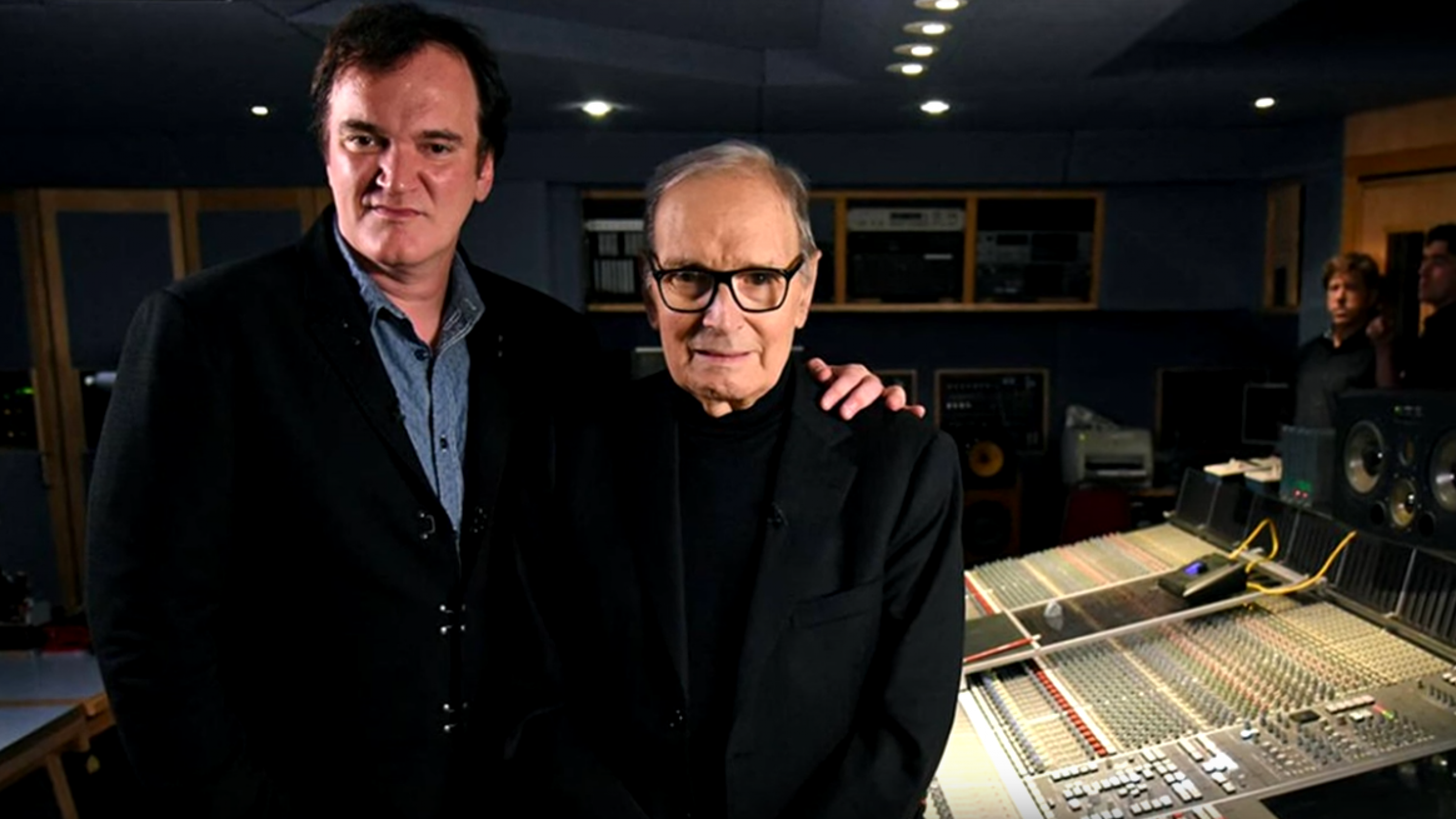 Quentin Tarantino et Ennio Morricone