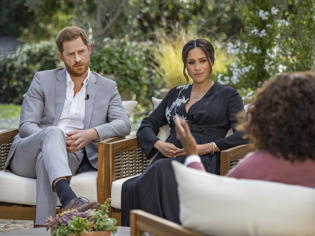 Oprah with Meghan and Harry : A CBS Primetime Special