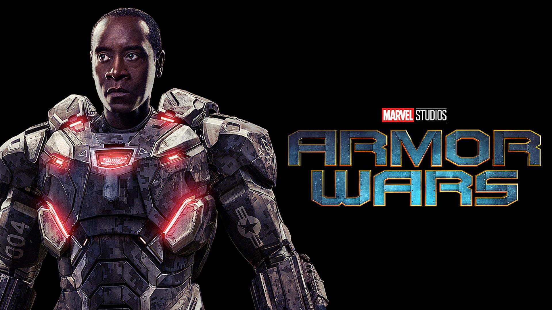 War Machine (Don Cheadle) - Armor Wars