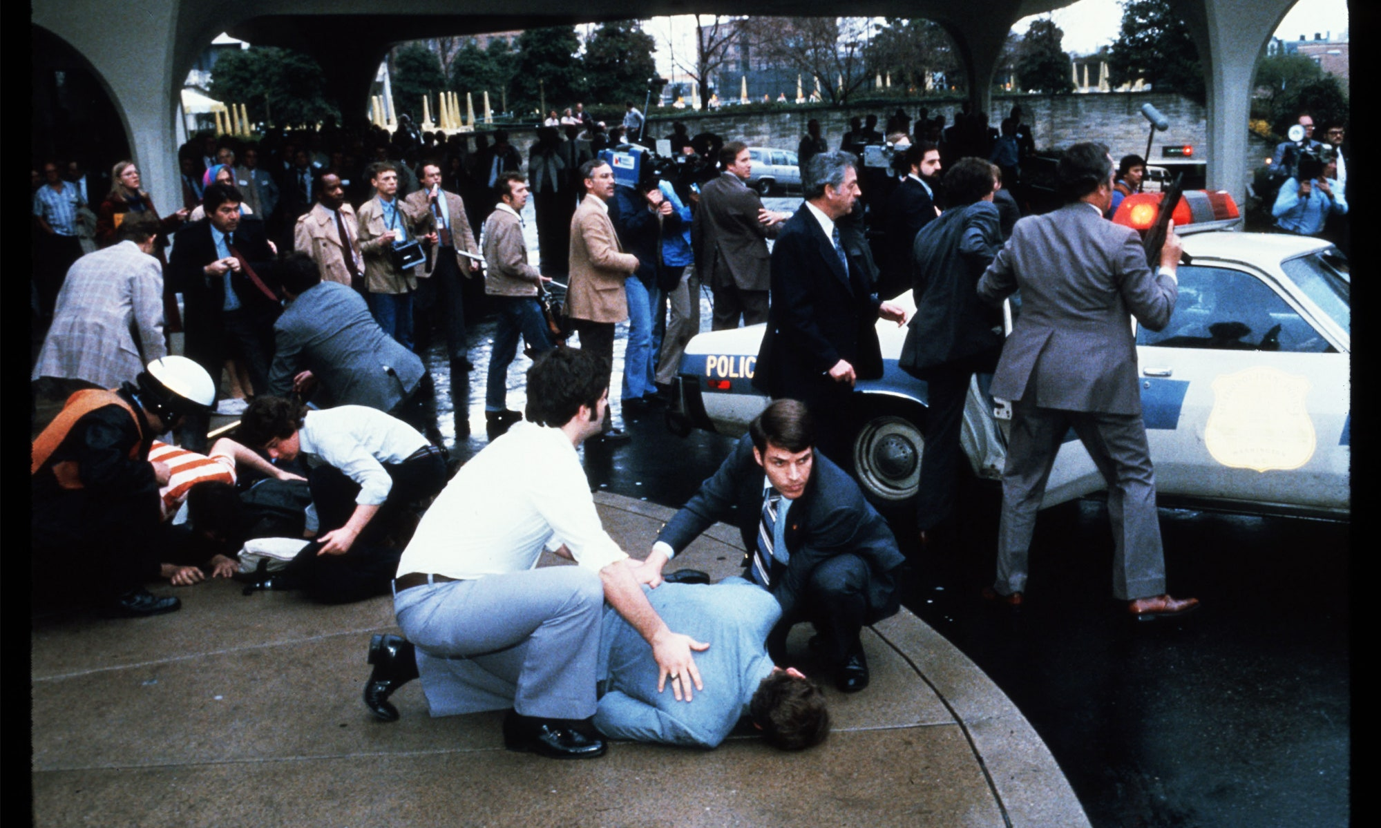 Ronal Reagan shot