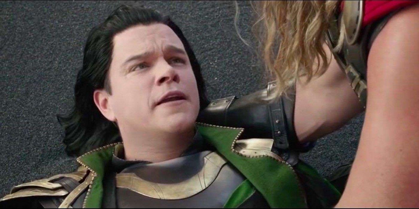 Loki (Matt Damon) - Thor : Ragnarok