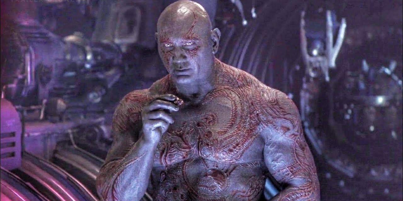Drax (Dave Bautista) - Avengers : Infinity War